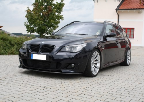 Kerscher Bmw E60e61 5series Splitter For M Tech Front Bumper Audi