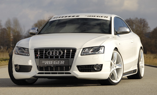 Rieger Audi A5 B8 Front Spoiler Audi Tuning Bmw Tuning Vw Tuning