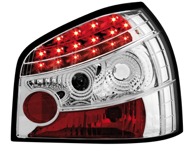 Audi A3 8L LED Tail Lights chrome 1