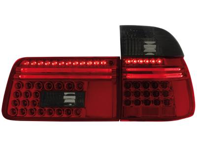 dectane bmw e39 5er touring led r ckleuchten set schwarz. Black Bedroom Furniture Sets. Home Design Ideas