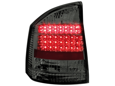 Opel Vectra C Sedan LED Tail Lights black