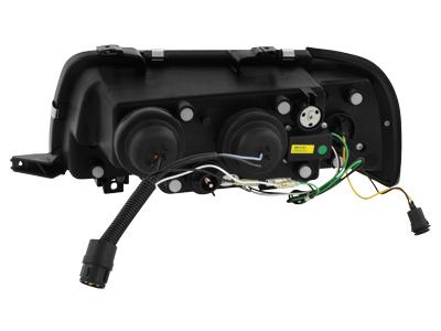 Audi 80 B4 DRL LED Headlights Dayline black