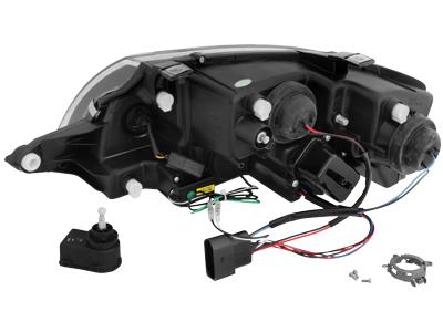 Audi TT 8N DRL LED Headlights Dayline chrome
