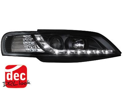 Dectane Opel Corsa C Scheinwerfer-Set Dayline schwarz Audi Tuning ...