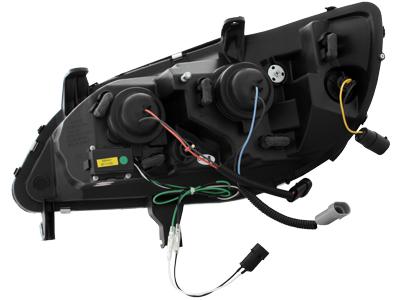 Opel Zafira A DRL LED Headlights Dayline black